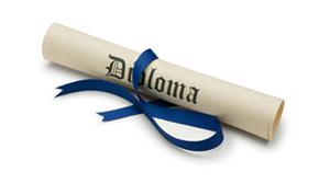 Diploma-Scroll